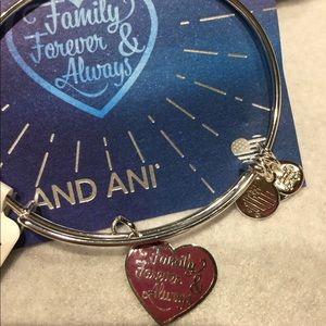 "NWT ALEX AND ANI ""FAMILY FOREVER AND ALWAYS """